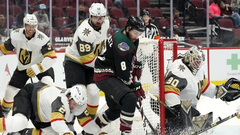 Golden Knights Coyotes Hockey