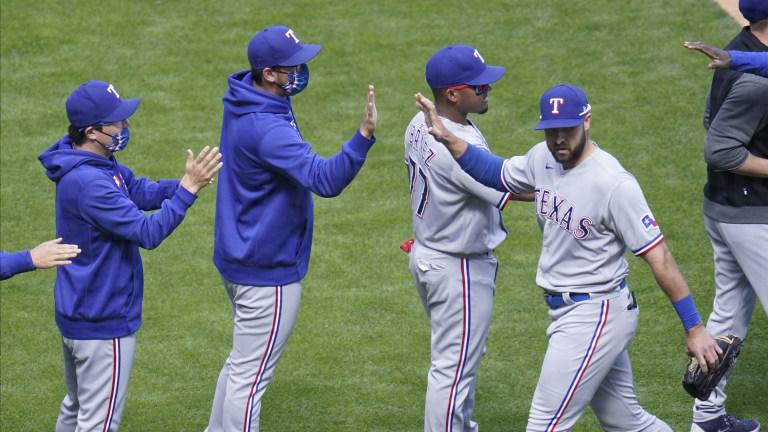 Rangers Twins Baseball