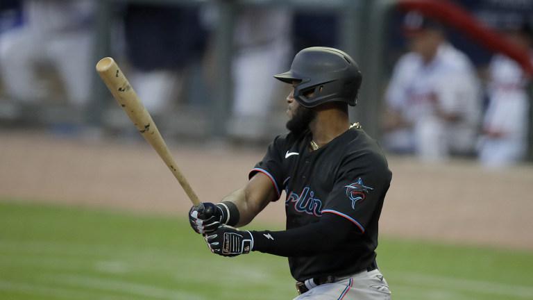 Marlins Braves Baseball