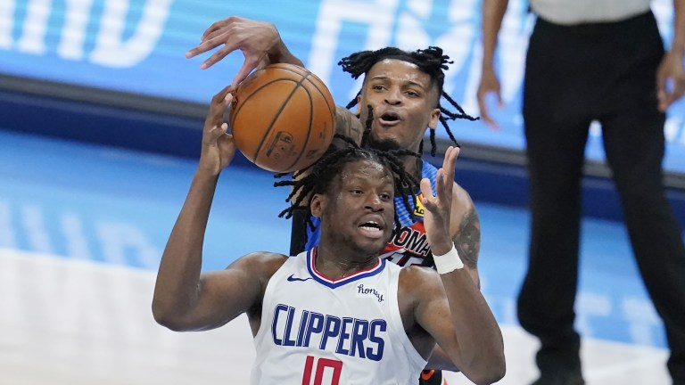 Clippers Thunder Basketball