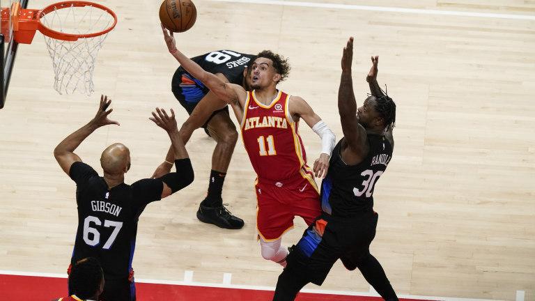 Knicks Hawks Basketball