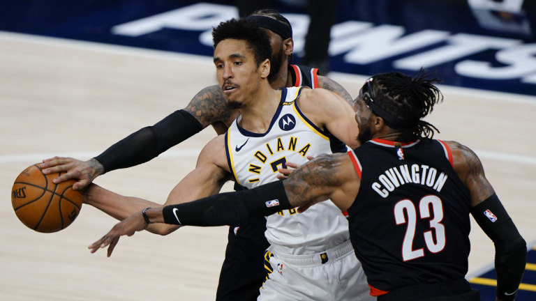 Trail Blazers Pacers Basketball