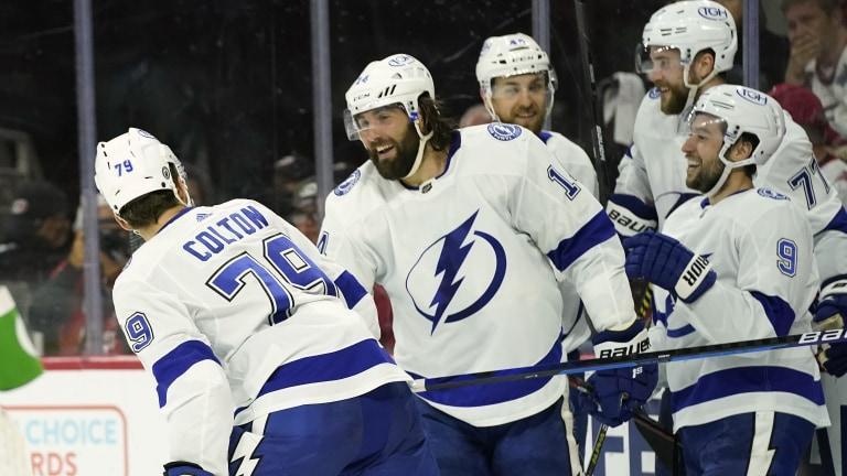Lightning Hurricanes Hockey