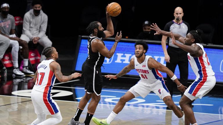 Pistons Nets Basketball