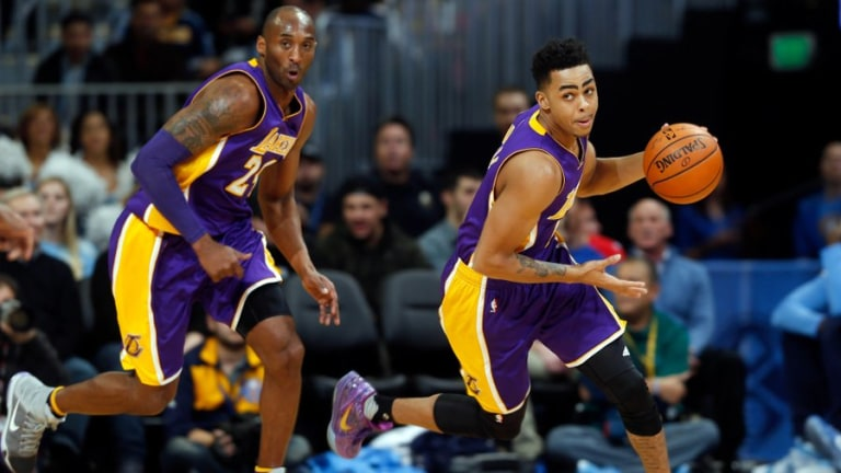 D'Angelo Russell, Wolves guard
