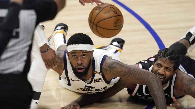 APTOPIX Jazz Clippers Basketball