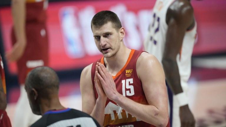 Suns Nuggets Basketball