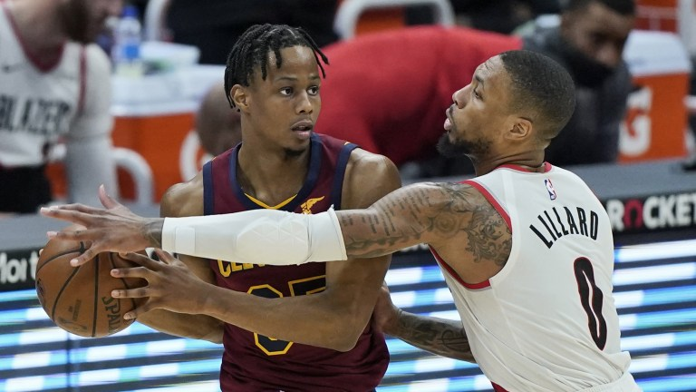 Trail Blazers Cavaliers Basketball