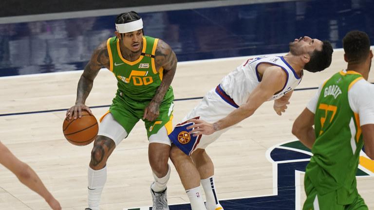 Nuggets Jazz Basketball