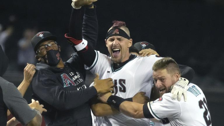 APTOPIX Mets Diamondbacks Baseball