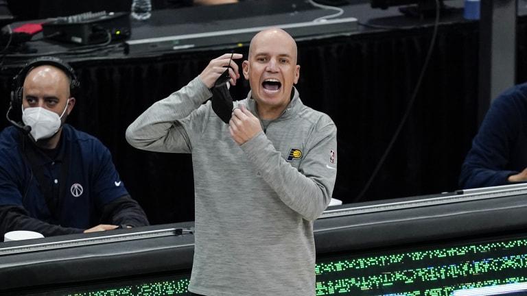 Pacers Bjorkgren Fired Basketball