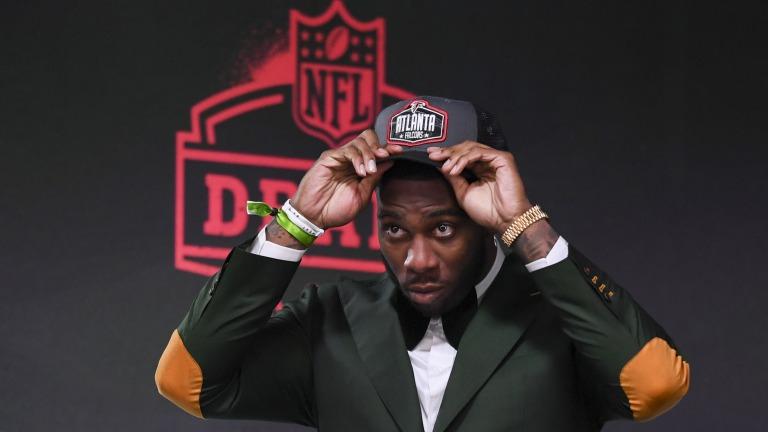 CORRECTION NFL Draft Football