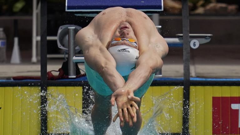 Murphy Burden Swimming