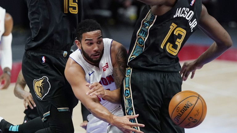 Grizzlies Pistons Basketball