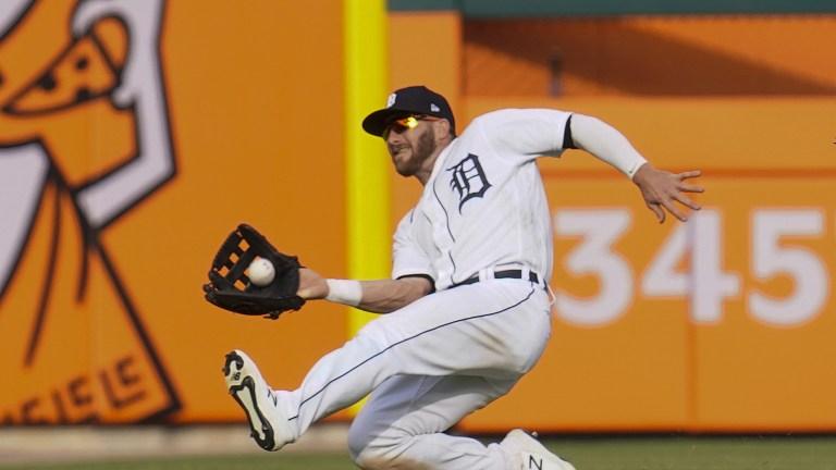 APTOPIX Twins Tigers Baseball