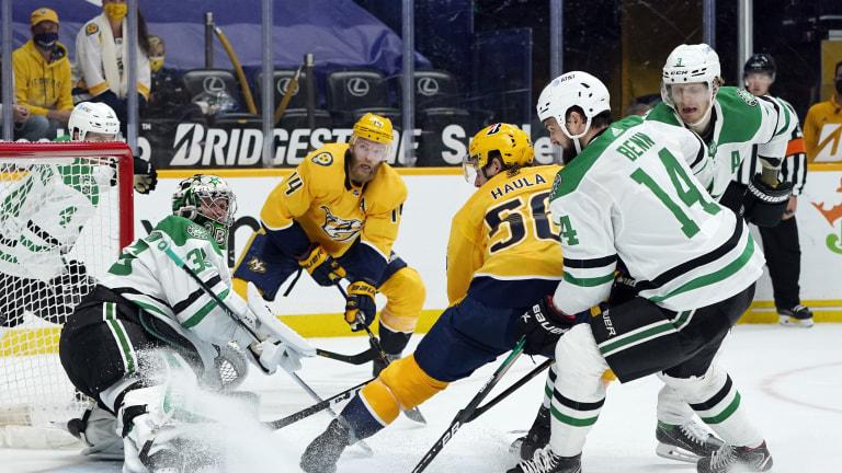 Stars Predators Hockey