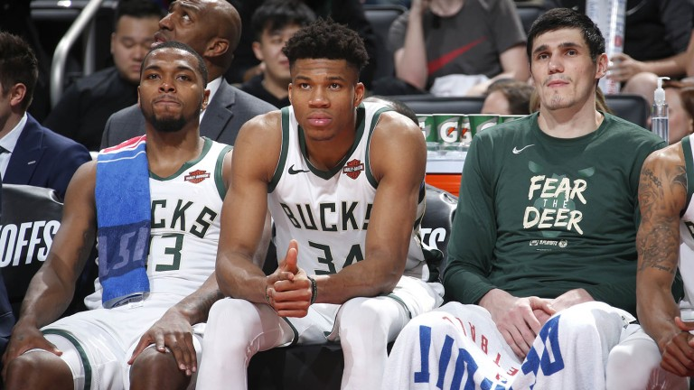 You never know who is going to step up for the Bucks