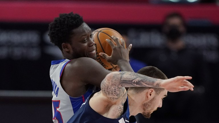 Timberwolves Pistons Basketball
