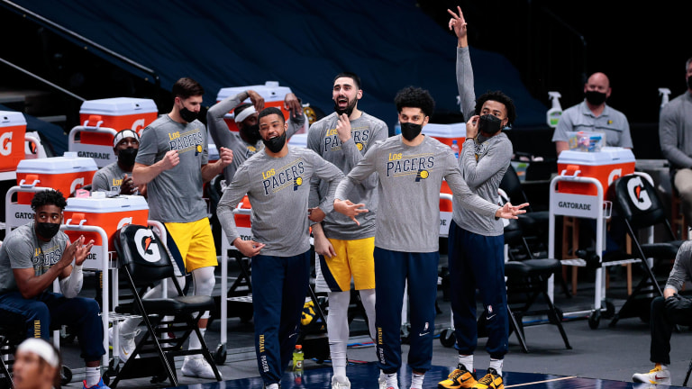 Indiana Pacers Jalen Lecque Brian Bowen Cassius Stanley Goga Bitadze