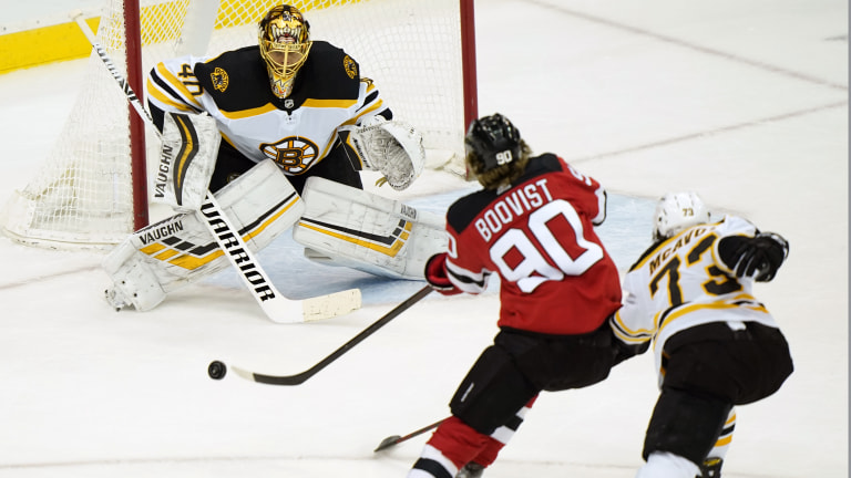 Bruins Devils Hockey