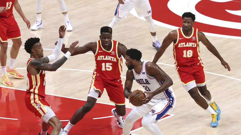 76ers Hawks Basketball