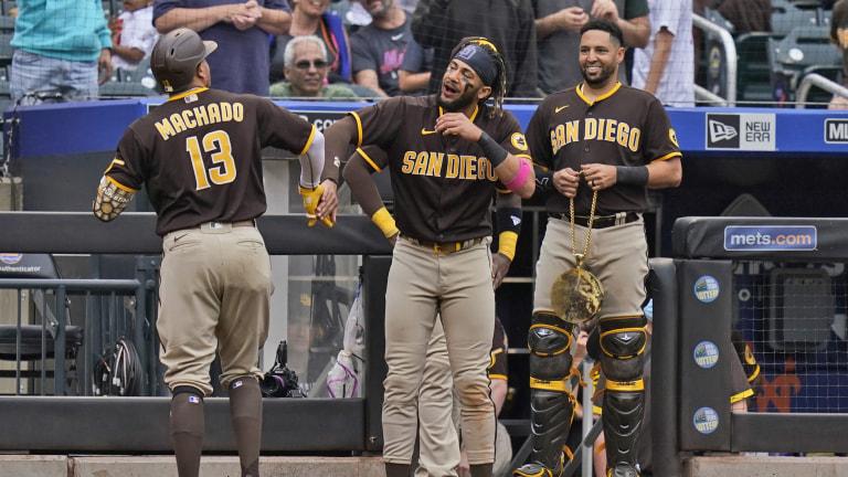 Padres Mets Baseball