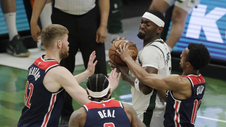 Wizards Bucks Basketball