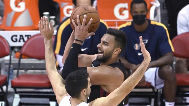Heat Jazz Basketball