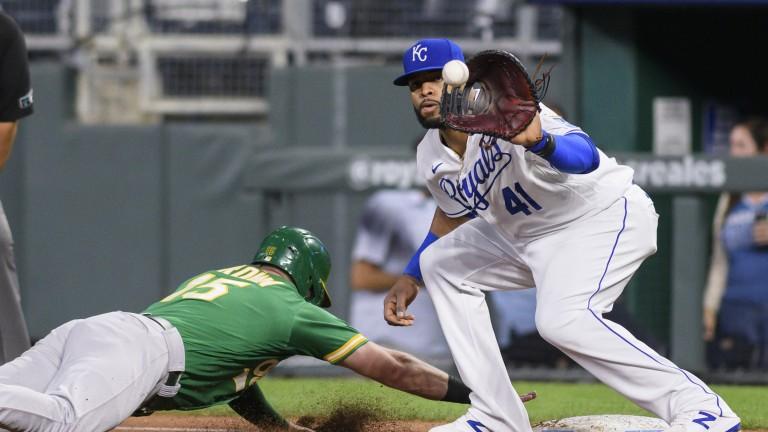 Athletics Royals Baseball