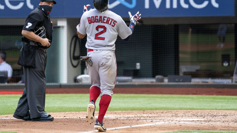 CORRECTION Red Sox Rangers Baseball