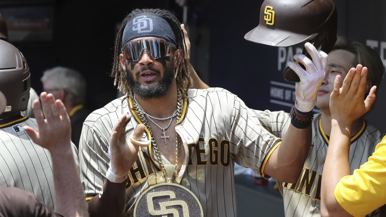 Braves Padres Baseball