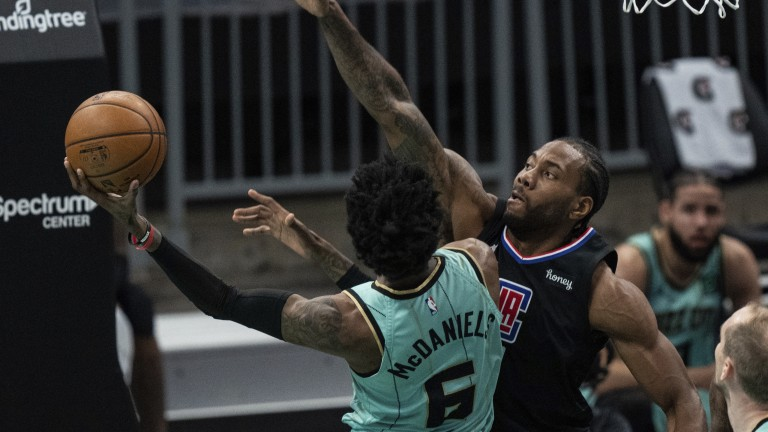 Clippers Hornets Basketball