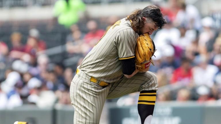 Padres Braves Baseball