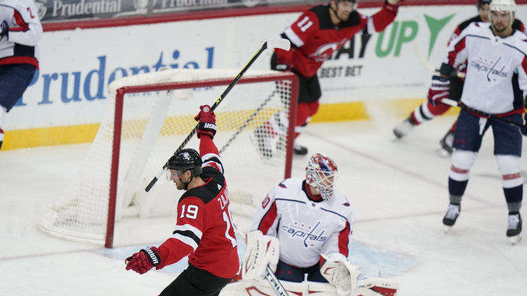 Capitals Devils Hockey