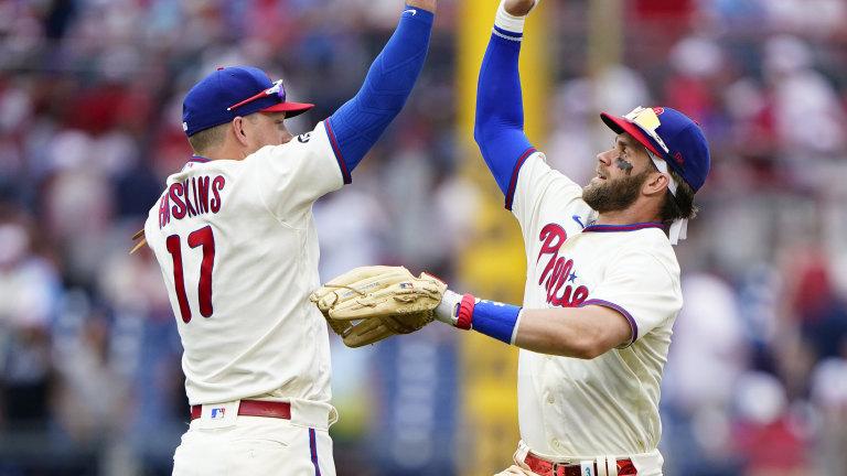 Yankees Phillies Baseball