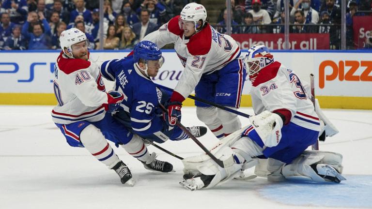 Canadiens Maple Leafs Hockey