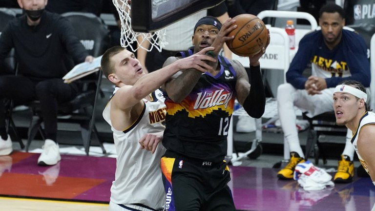 APTOPIX Nuggets Suns Basketball