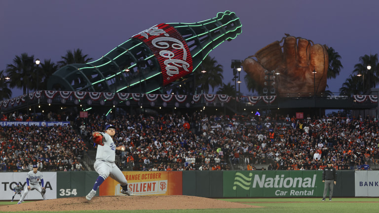 NLDS Dodgers Giants Baseball