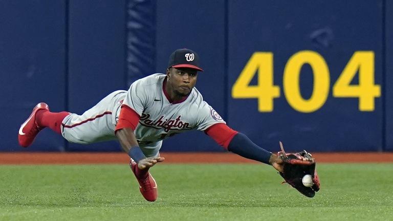 APTOPIX Nationals Rays Baseball