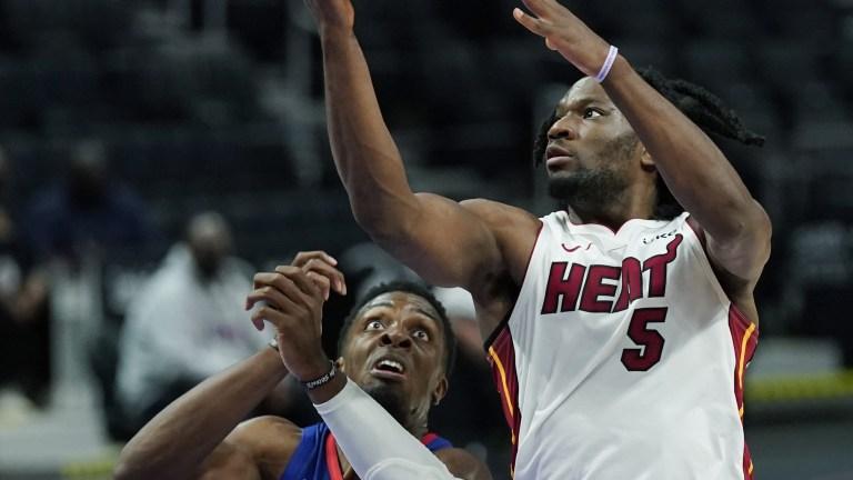 Heat Pistons Basketball