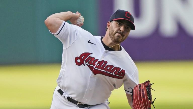Twins Indians Baseball