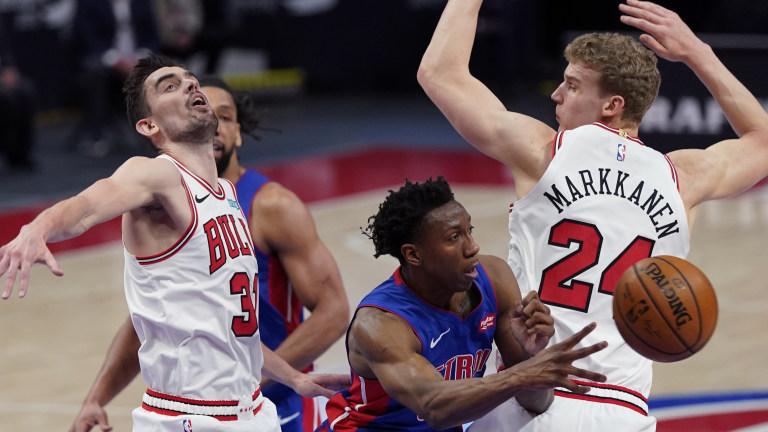 Bulls Pistons Basketball