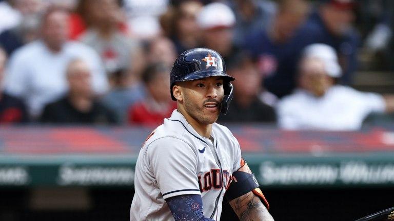 Astros Indians Baseball