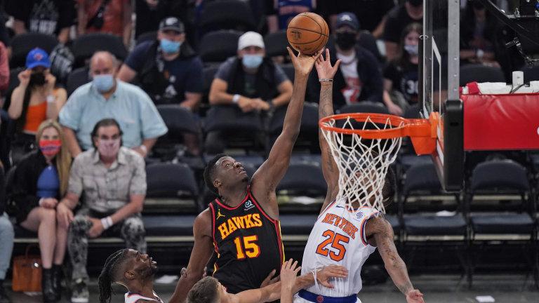 Hawks Knicks Basketball