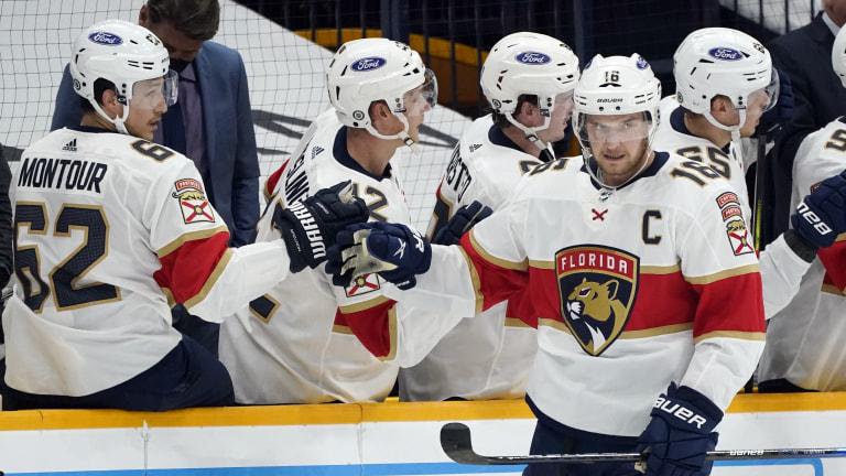 Panthers Predators Hockey