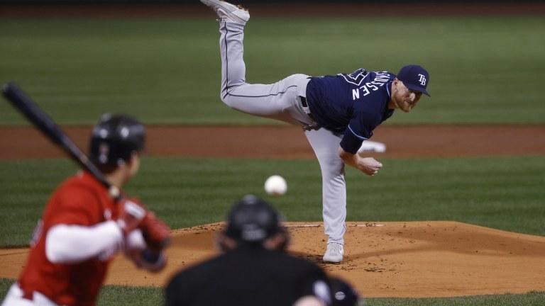 Rays Red Sox Baseball