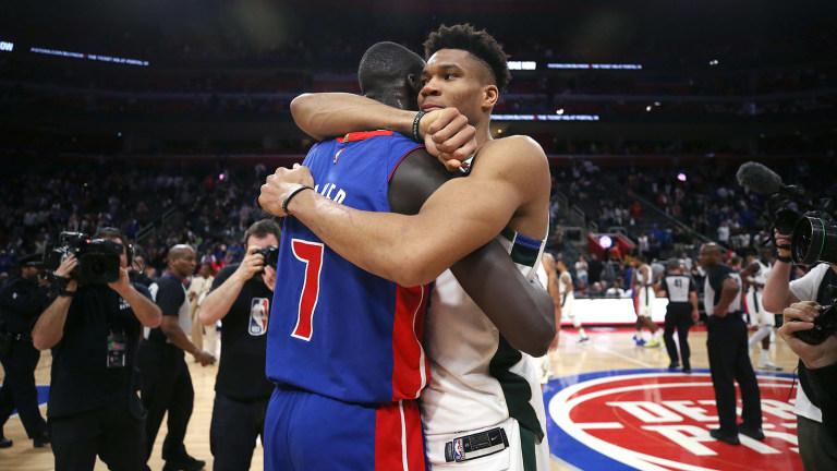 Milwaukee Bucks v Detroit Pistons - Game Four