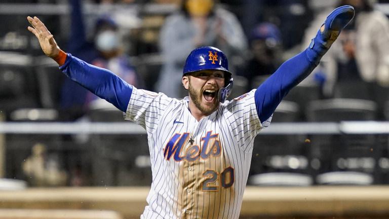 APTOPIX Diamondbacks Mets Baseball