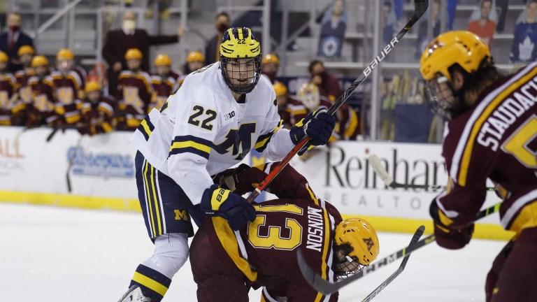 NHL Draft-Michigan Trio Hockey