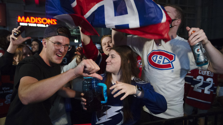 Stanley Cup Montreal Reax Hockey